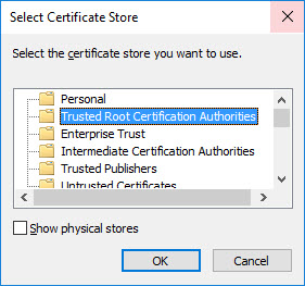 An easy fix for vSphere 6 5, web client and certificates to
